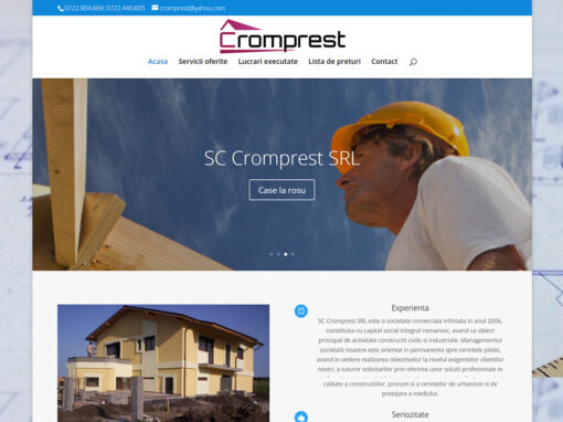 Portofoliu Creatie Web